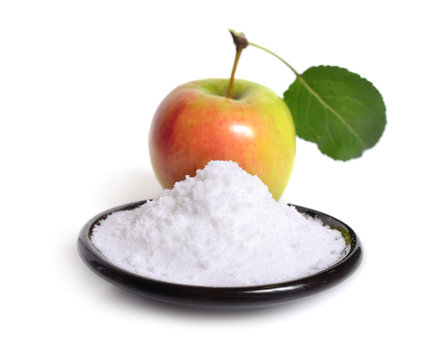 Fructose, or fruit sugar With apple