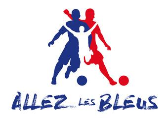 Foot -  Allez les bleus - France