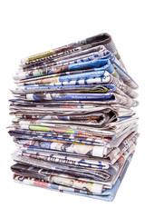 gazete yığını