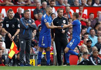 Premier League - Manchester United vs Leicester City