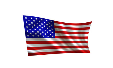 Image of the American flag.
