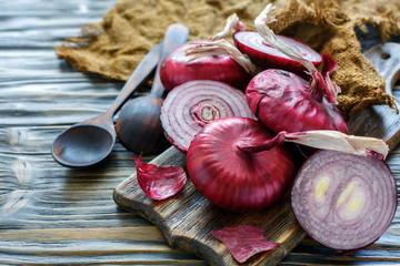 Sweet red onion.
