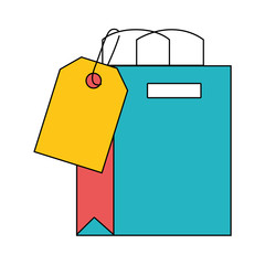 shopping bag with tag to marketing strategy
