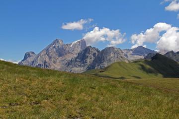 Gran Vernel e Marmolada dal Col Bel; Val di Fassa, Trentino