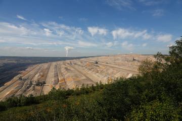 Schaufelrad, Braunkohle, Tagebau, Rekultivierung, Erftkreis, Tagebaubetrieb, Energie, Kohle, Energiegewinnung, Umweltschutz, Demo, Rheinland, Hambach,  Demonstration, Kohlegegner,
