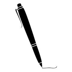 school pen isolated icon vector illustration design