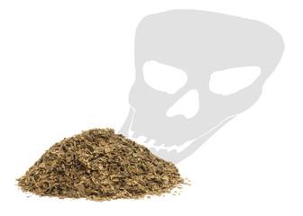concept of smoking kills