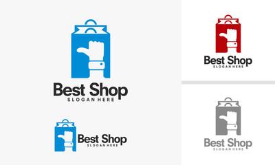 Best Shop Logo designs template, Top Sale Logo designs vector illustration