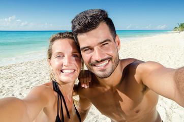selfie photo in couple