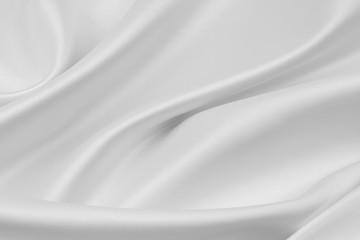 White silk material