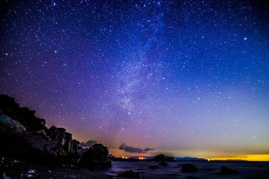 白崎海洋公園の星空