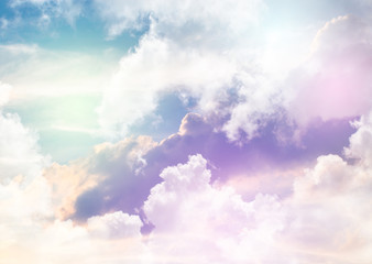 Colorful sky background.
