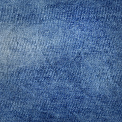 Blue denim jean background