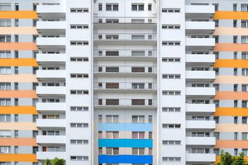 Hochhaus wohnen Leben in der Stadt