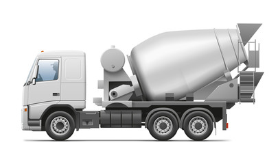 Automotive Concrete Mixer