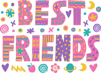 word art Best Friends