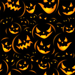 Halloween holiday, seamless background