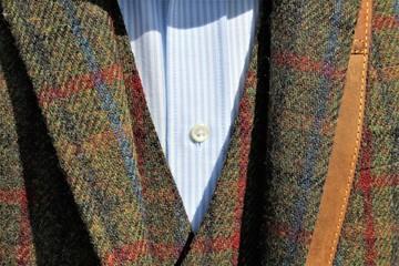 An image of tweed jacket
