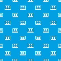 Desktop pattern seamless blue