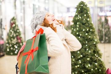 Weihnachten einkauf
