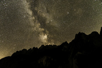 Gosau Lake Austria nightsky