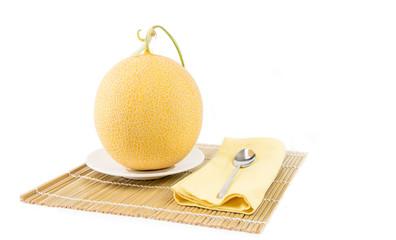 Melon fruit ready for eat