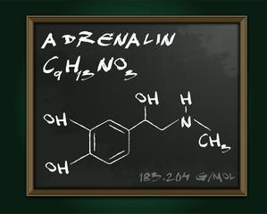 Adrenalin molecule image