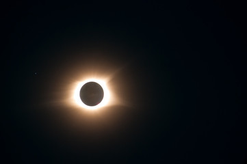 Solar eclipse of August 21 2017 at totality