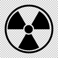 radiation nuclear symbol