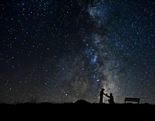 Yıldızlar Altında Sonsuz Aşk