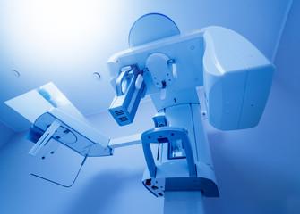 Dental panoramic radiographer equipment. Dental office