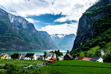 Norway grand fjord
