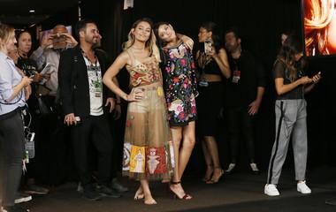 2017 MTV Video Music Awards – Photo Room – Inglewood, California