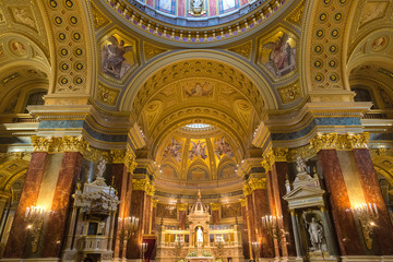 St. Stephen's Basilica in Budapest,
