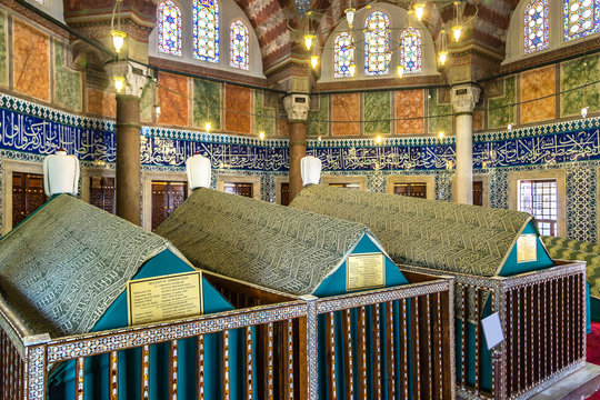 Tomb of sultan Suleyman in Istanbul
