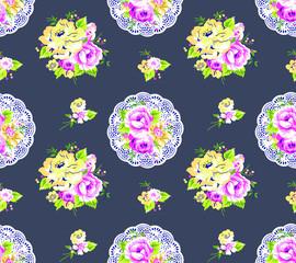 Rose Floral Pattern