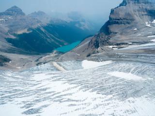 バンフの氷河