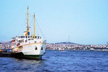 Bosphorus and ferry transportation
