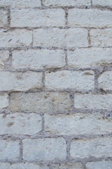 white and grey stones brick wall texture
