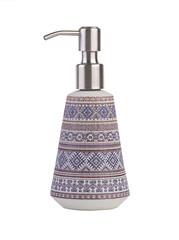 Ceramic bath dispenser isolated