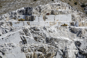Carrara cave