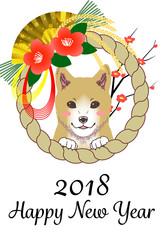 年賀状 テンプレート 2018
