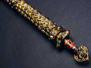 Royal regalia sceptre