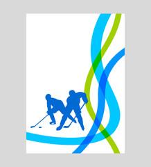 Eishockey - 68 - Poster