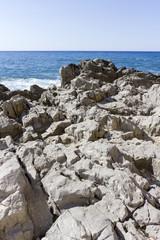 Coastline of Cefalù, Italy