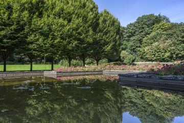 Bottrop-Stadtgarten im Spätsommer