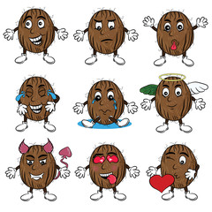 Stickers Coconut