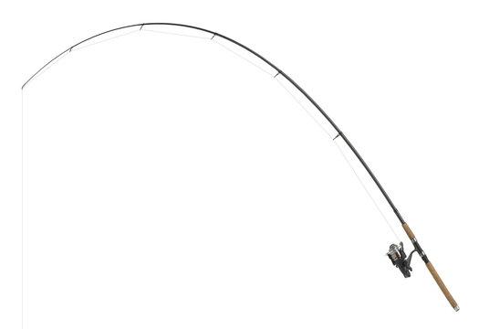 isolated fishing pole