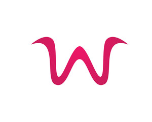 W letters logo and symbols