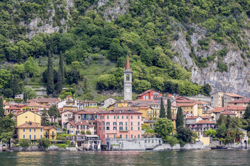 The little town of Varenna, Lake Como, Lombardy, Italy.